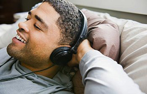 Man listening to The Gatewayexperience